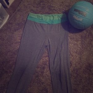 Blue/Green Yoga Pants